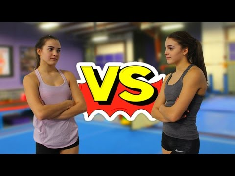 TWIN VS TWIN WHO S THE BETTER GYMNAST
