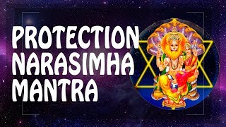 GREAT PROTECTION MANTRA - NARASIMHA LORD MANTRA ॐ MAN POWER MANTRA of spirituality (PM) 2018