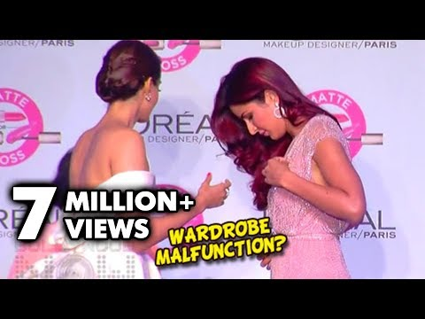 Sonam Kapoor Saves Katrina Kaif From A Wardrobe Malfunction