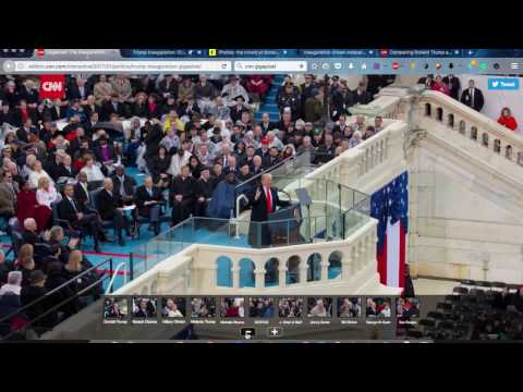 Trump Inauguration crowd size Shocking time proof