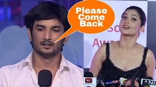 Omg ! Sushant Singh Rajput cries for Ex Ankita Lokhande to come back in his life ! Ankita Reacts