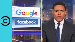 Google and Facebook's Fake News On The Vegas Shootings | The Daily Show