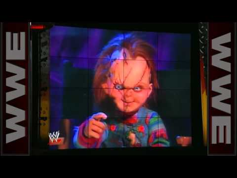 Rick Steiner encounters Chucky from Childs Play on WCW Nitro