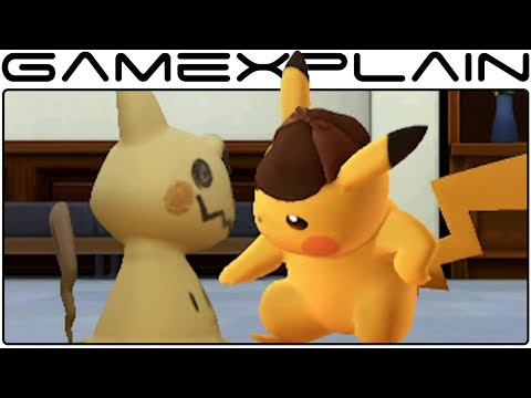 Detective Pikachu Get Ready to Crack the Case Trailer Nintendo 3DS