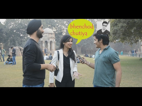 Delhi Girls Saying Bhench*d | Funny Adult Interview || AASHIV MIDHA
