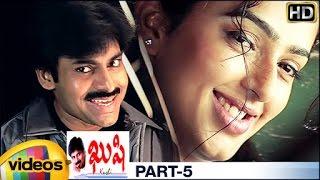 Kushi Telugu Full Movie w/subtitles | 1080p ᴴᴰ | Pawan Kalyan | Bhumika | Ali | SJ Suryah | Part 5