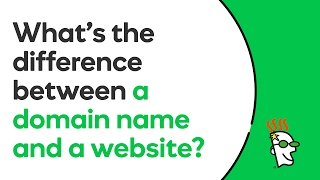 What Is The Difference Between A Domain Name And A Website?   GoDaddy
