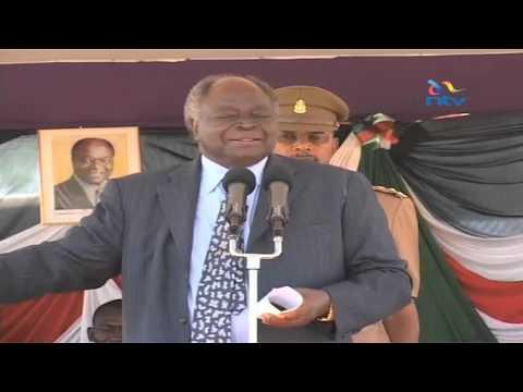 NEW Kibaki's EXPLICIT video talking about Muliro Gardens saga....NTV had to censor