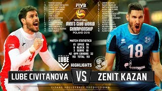 Lube Civitanova vs. Zenit Kazan | Highlights | FIVB Club World Championship 2018
