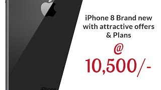 Brand New iPhone 8 now @ 10500 only