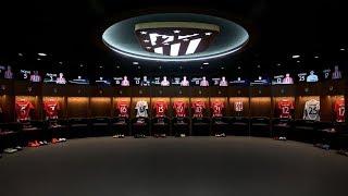 Best Football Dressing Rooms