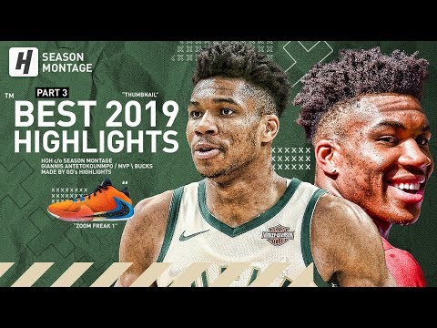 Giannis Antetokounmpo BEST MVP Highlights & Moments from 2018 19 NBA Season BEAST LAST Part 3