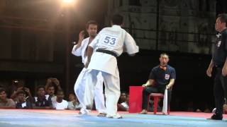 Senpai Ramon Gonzales knocking out Bangladesh fighter in All Asia
