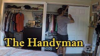 How To Install Bi-Fold Closet Doors | THE HANDYMAN |