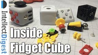 What Is Inside A Fidget Cube? Teardown Video