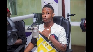 Stonebwoy officially introduces Kevlyn Boy on Atuu TV