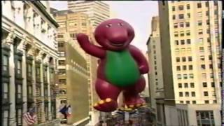 Barney in the 1996 Macy's Thanksgiving Day Parade