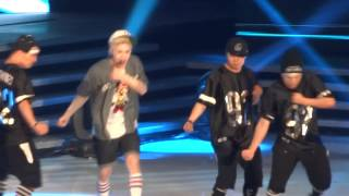 130825 - HENRY - TRAP (English Ver.) @ M! Countdown What's Up LA KCON 2013
