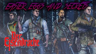 DER EISENDRACHE - ALL EASTER EGGS AND SECRETS WALKTHROUGH (Black Ops 3 Zombies)