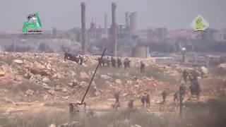 هروب جماعي للميليشيات الشيعية والفلسطينية من مخيم حندرات