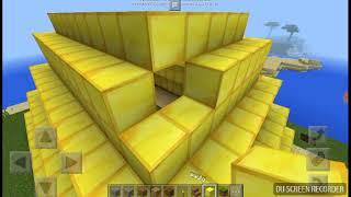 coma acer una piramide de oro en minecraft