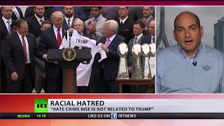 Is Trump to blame for spike in US hate crimes? Media says 'yes'