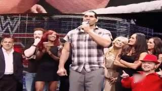 Khali sings Happy Birthday song for John Cena - Best ever Funny video
