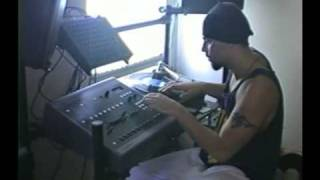 DJ Muggs (1992) making beats at his home studio