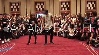''BAD AND BOUJEE'' - Migos Dance   Bailey Sok & Matt Steffanina   @MattSteffanina Choreography