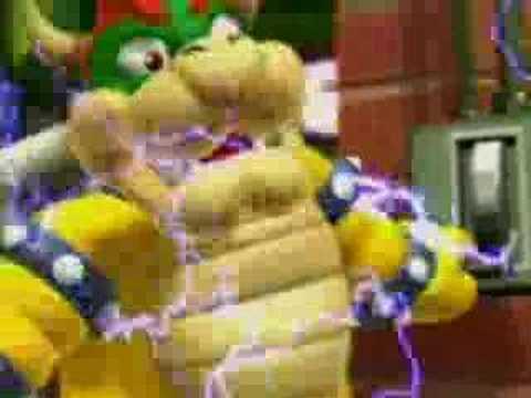 Mario Power Tennis Bloopers Full reel