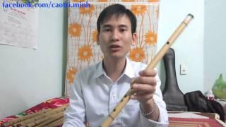 8. Hướng dẫn thổi sáo 2015: Các nốt thăng, giáng -- (sáo trúc Cao Trí Minh)