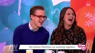 Tom And Giovanna Fletcher Talk The Christmasaurus | Loose Women