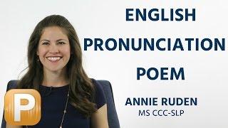 English Pronunciation Poem | The Chaos by Dr. Gerard Nolst