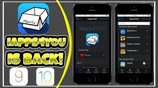 Best Way To Get Modded Games/Apps Is Back On iOS 10/9! NO PC/JB! FREE!