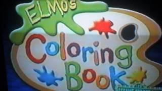 Sesame Street Live Elmo's coloring book