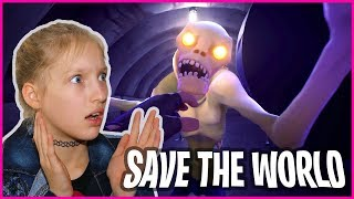 Saving the World from Zombies! Fortnite Co-Op PvE