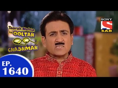 Taarak Mehta Ka Ooltah Chashmah - तारक मेहता - Episode 1640 - 31st March 2015