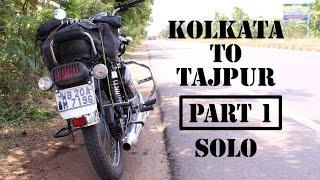KOLKATA to TAJPUR| PART I | ft. BENGAL BULLS | SOLO RIDE| ROYAL ENFIELD | Exploring West Bengal #3