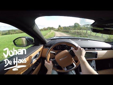 2017 Range Rover Velar 3.0D 300hp AWD R Dynamic HSE POV test drive