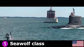 TOP 10 Nuclear Submarines 2016   2020   YouTube