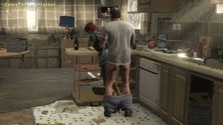 ★GTA 5 - Trevor and Ashley Sex Scene! (The Death of Johnny)