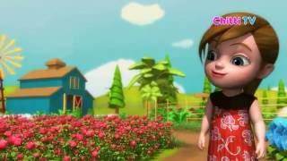 Roses are Red, Violets Are Blue - English US Nursery Rhyme For Kids - Chitti TV