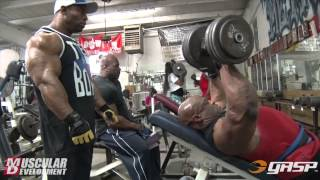 Ronnie Coleman and Cory Mathews | Chest Training