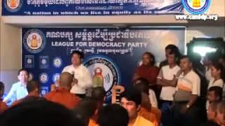 Yem Ponharith vs LDP youth at Khem Veasna Office Part 2