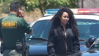 Black Chyna Pulled Over And Rolls Royce Impounded By Malibu Sheriff [2014]
