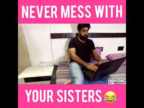 New prank with sister must watch in India