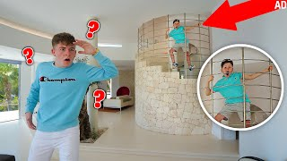 *EXTREME* HIDE AND SEEK in $10,000,000 MANSION with LITTLE BROTHER!!