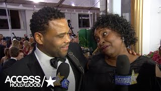 Golden Globes: Anthony Anderson Discovers Mama Doris