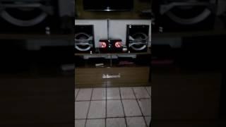 Mini sistem Panasonic akx600 1300w RMS