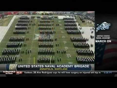 watch Navy-Army March On Pregame Show